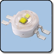 6W High Power White & Yellow LED (140 Degree)