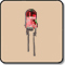 0.5W 5mm LED -  5mm High Power LED Red