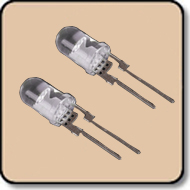 5mm LED 1W White LED - 5mm White High Power LED