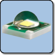 1W SMD LED White:  114 Lumens