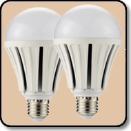 2 Pack 150W A21 LED Bulb Daylight White