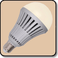 A23 100W LED Bulb Warm White 1500 Lumens