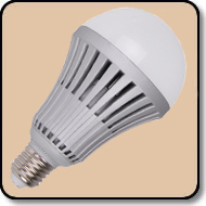A23 150W LED Bulb  Daylight White 2000 Lumens