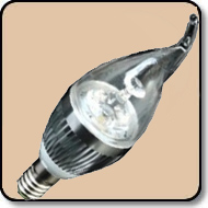 Candelabra 40W LED Bulb Cool White