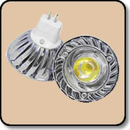 MR16 Warm White LED - 50W Halogen Replacement