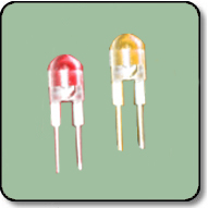 0.5W 8mm Power Bicolor Red & Yellow LED Lamp