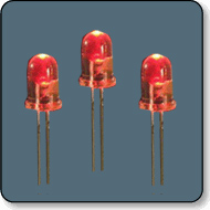 3mm 12V Red LED