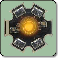 Luxeon Star - Equivalent 1W Yellow