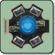 1W Blue High Power LED Heat Sink