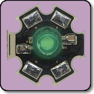 Luxeon Star - Equivalent 1W Green