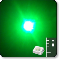 Power SMD LED - Mega Bright Green
