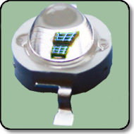 5W High Power UV LED 390nm 140 Degree